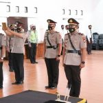 Pelantikan Pejabat Baru Polres Pinrang