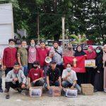 Bantu Korban Kebakaran IMM Pinrang Gelar Aksi Galang Dana di Jalan.