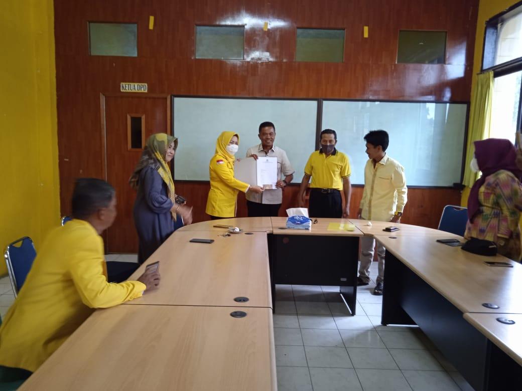 Pendaftaran Calon Ketua Golkar Pinrang